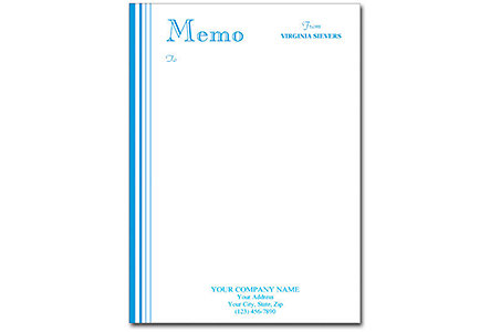 Personalized Memos White