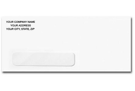 #10 Window Self-Seal Envelope
