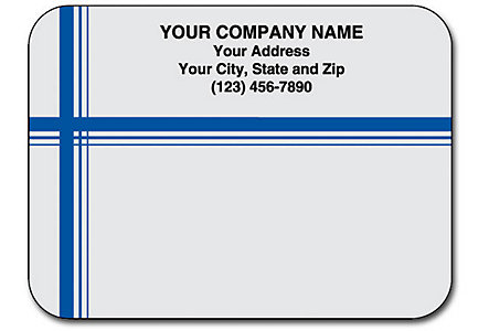 Matte Mail Labels Flat