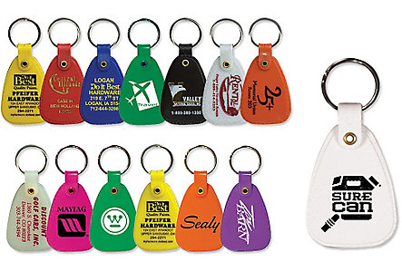 Saddle Key Tag - 1 Side Imprint
