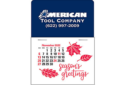 Press-N-Stick Calendar W/Envelope