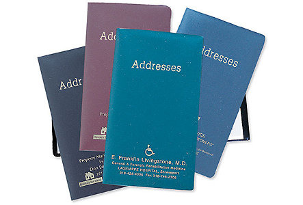 Metallic Address Book