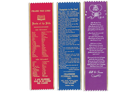 Inspirational Ribbon Bookmarks