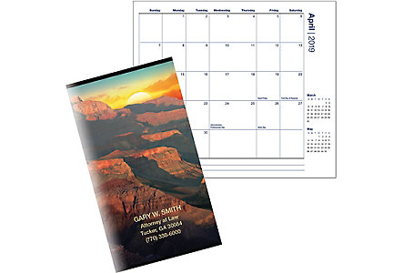 Assorted Scenic Series Calendar