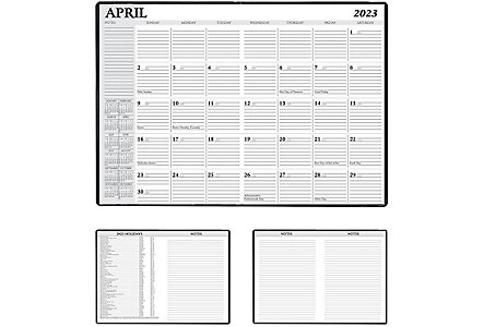 Gnu Desk Monthly Calendar
