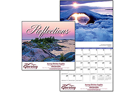 Reflections-Stitched Calendar