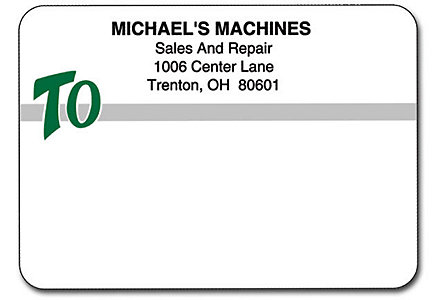 Matte Mail Labels Continuous