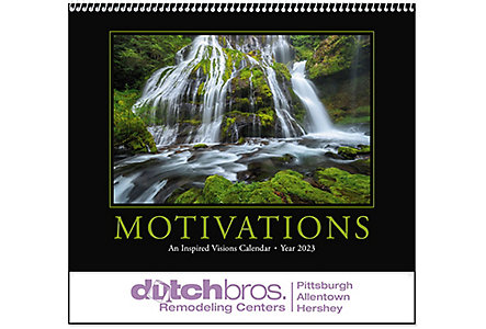 Motivations Wall Calendar Spiral