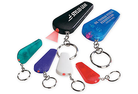 Light'n'whistle Key Ring
