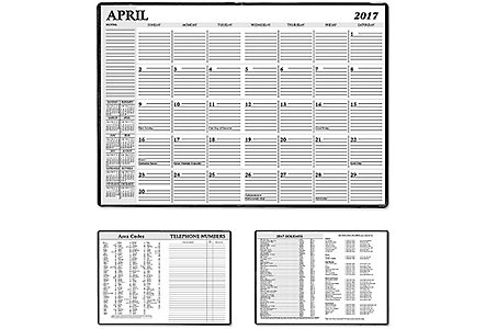7X10 Global Monthly Planner