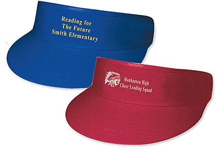 Cotton Twill Golf Visor
