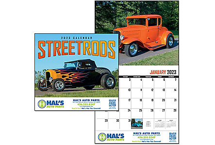 Street Rod Fever Wall Calendar