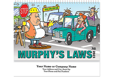 Murphy's Law Spiral Bound Cal.