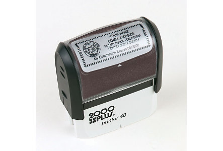 Self-Inking Stamp 7/8 X 2 5/16