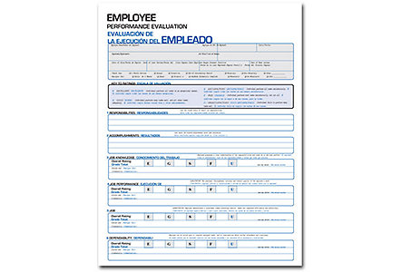 Employee Performance Eval-Bilingual