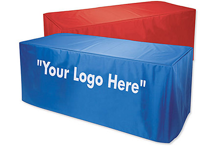 6'Nylon Table Cover 2 Col Imprint