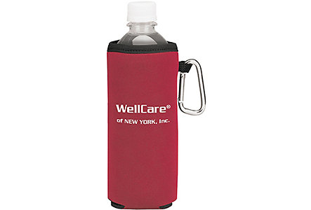 Bottle Koozie With Carabiner