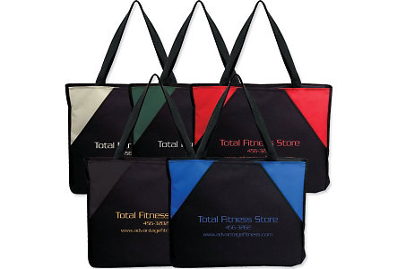 Triad Two-Tone Tote-Screened