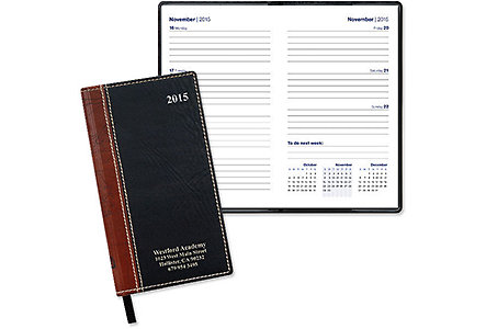 World Map Weekly Pocket Planner