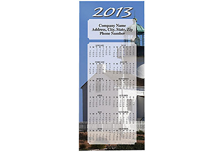 Lighthouse Magnet Calendar