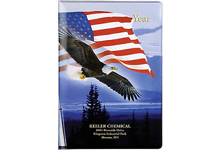 7X10 Majestic Eagle Patriotic Cal