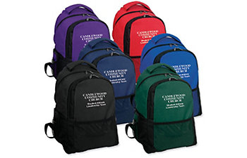 AMSPORT BACKPACK EMBROIDERED