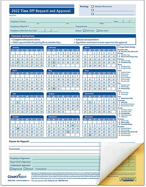 Employee Vacation Request Forms – Vacation Request Form