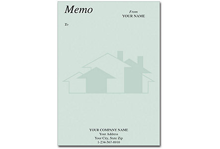Memo Real Estate Design 5X7