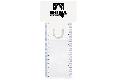 Bus. Card Magnifier/Ruler/Bookmark