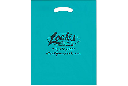 12X15x3 Plastic Die Cut Bag