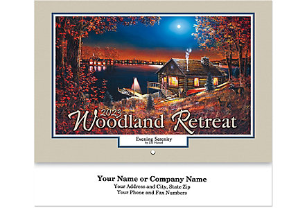 Woodland Retreat Wall Cal.-Stapled