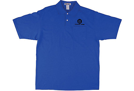 Jersey 50/50 Pocket Sport Shirt Emb