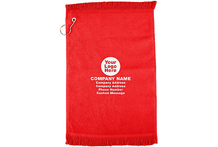 Anvil Golf Towel W/Grommet & Hook