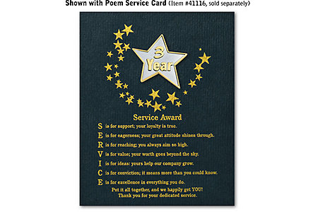 Star Service Award Pin - 3 Yr