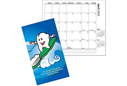 Dental Wave Calendar Monthly