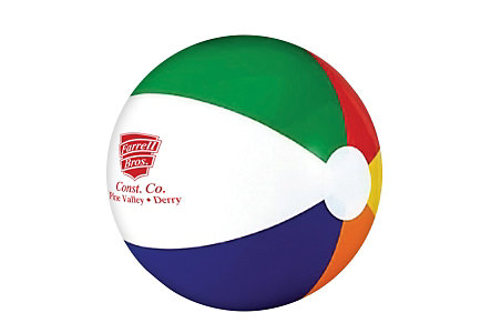 Six Color Beach Ball 6 Inch