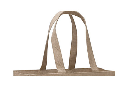 Natural Jute Shopper Tote