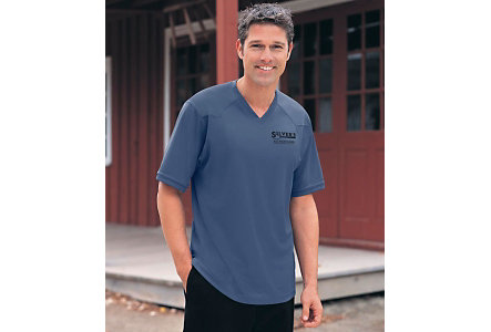 Mens Performance V Neck
