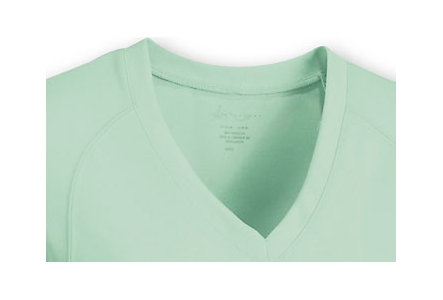 Womens Performance V Neck Shirt