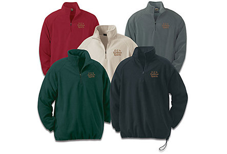 Microfleece Mens-Half Zip