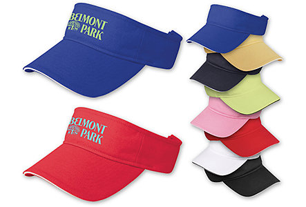 Brushed Cotton Twill Visor