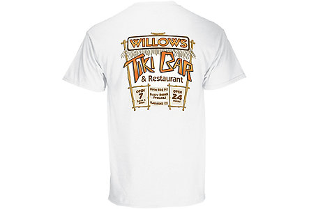 100% Cotton Tee Digital - White