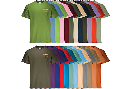 100% Cotton Tee Digital - Colored