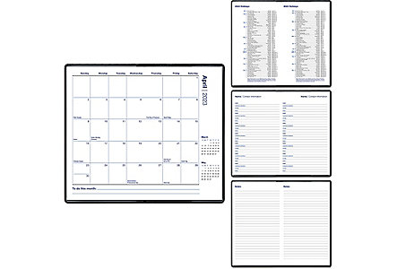 Clifton Pocket Calendar Monthly