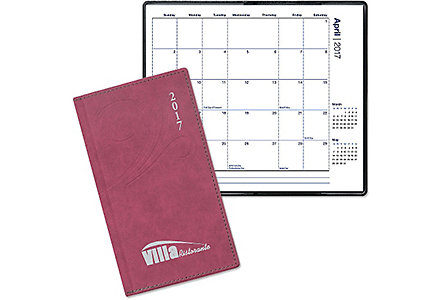 Linden Pocket Calendar Monthly