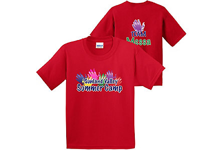 Youth Digital T-Shirt-Colors