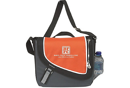 A Step Ahead Messenger Bag-Emb
