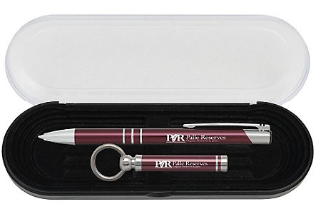 Delane Pen And Keychain Gift Set