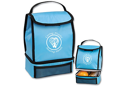 Caring Hearts Sky Lunch Sack