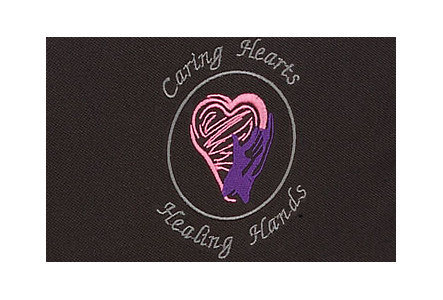 Caring Hearts Heather Grey Tote